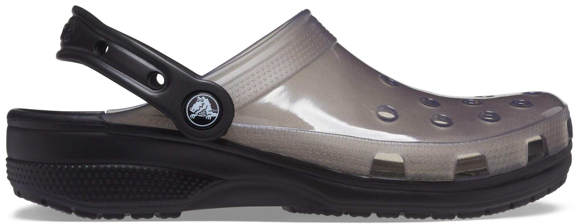 Crocs™ Classic Translucent Clog Black 45,5