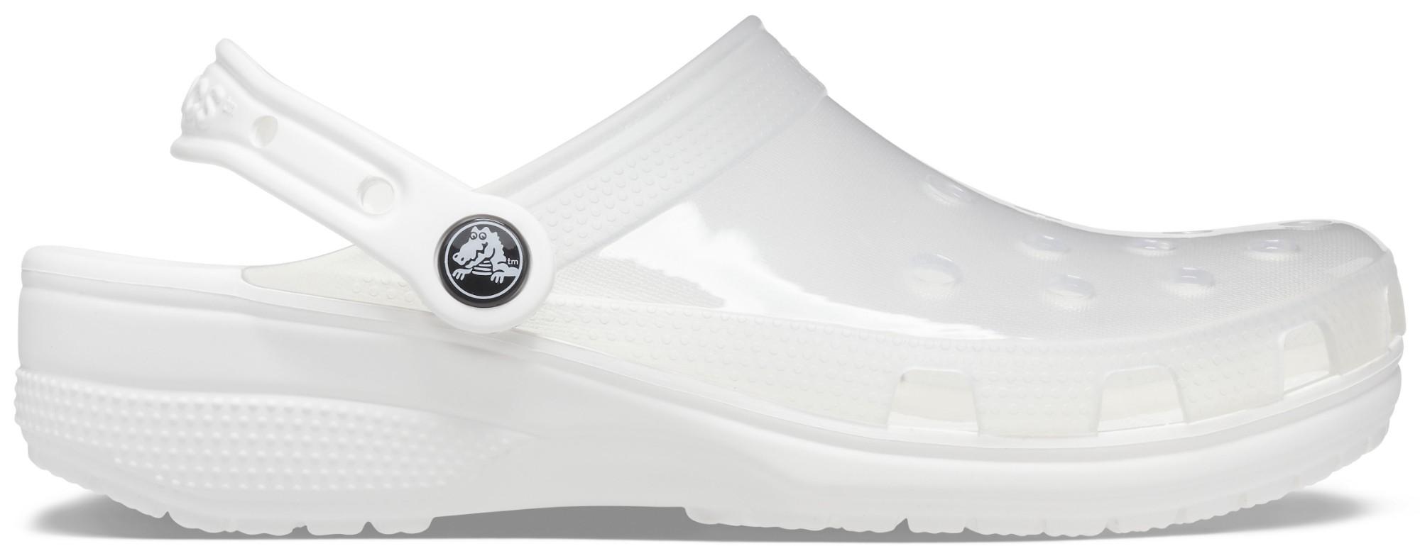 Crocs™ Classic Translucent Clog White 44,5