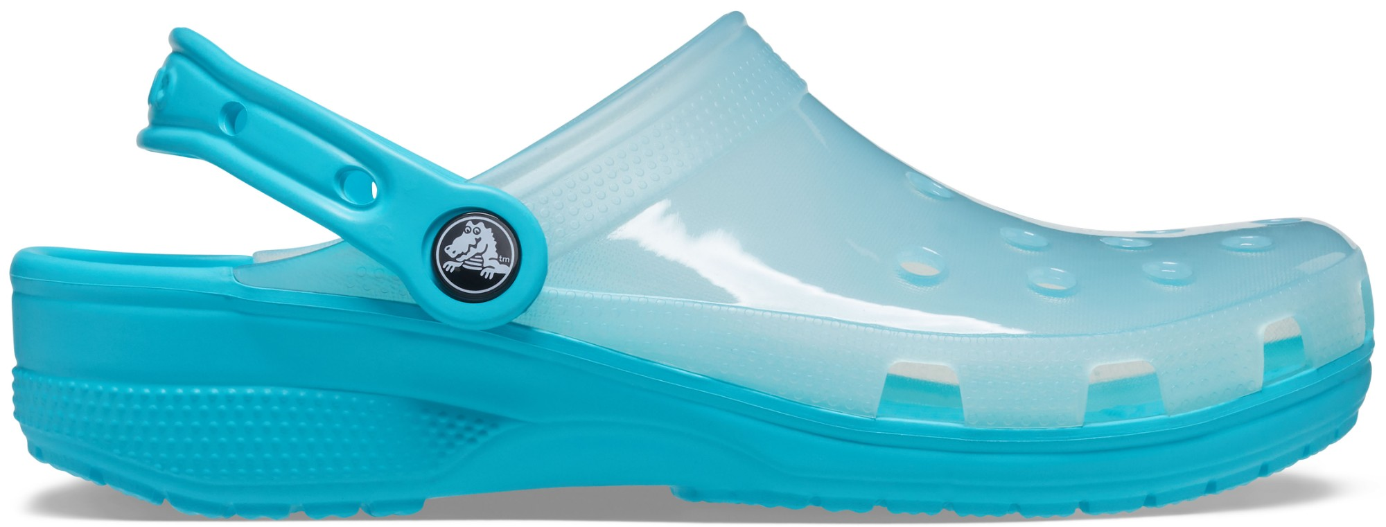 Crocs™ Classic Translucent Clog Digital Aqua 36,5