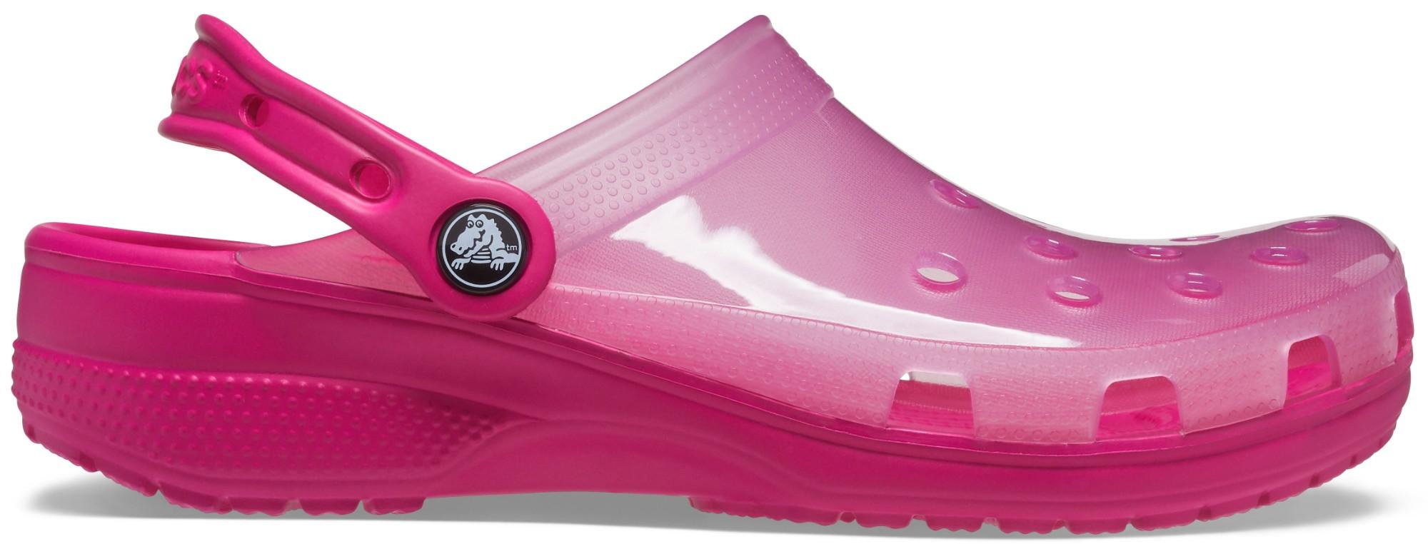 Crocs™ Classic Translucent Clog Candy Pink 39,5