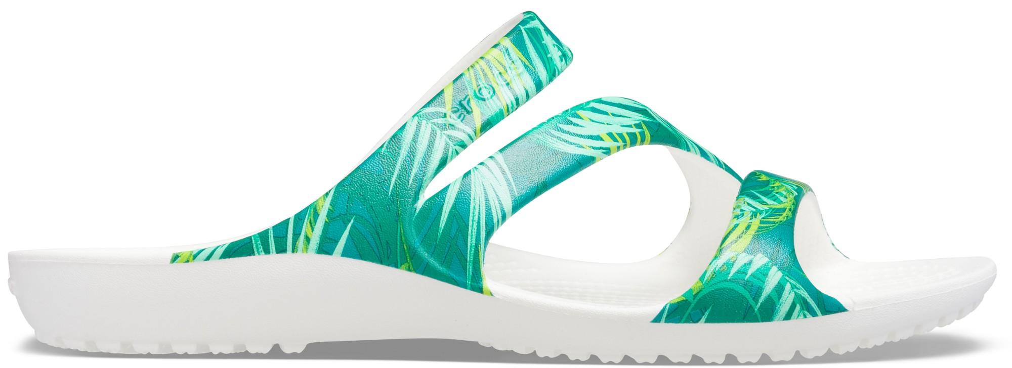 Crocs™ Kadee II Tropical Sandal Women's White/Multi 39,5