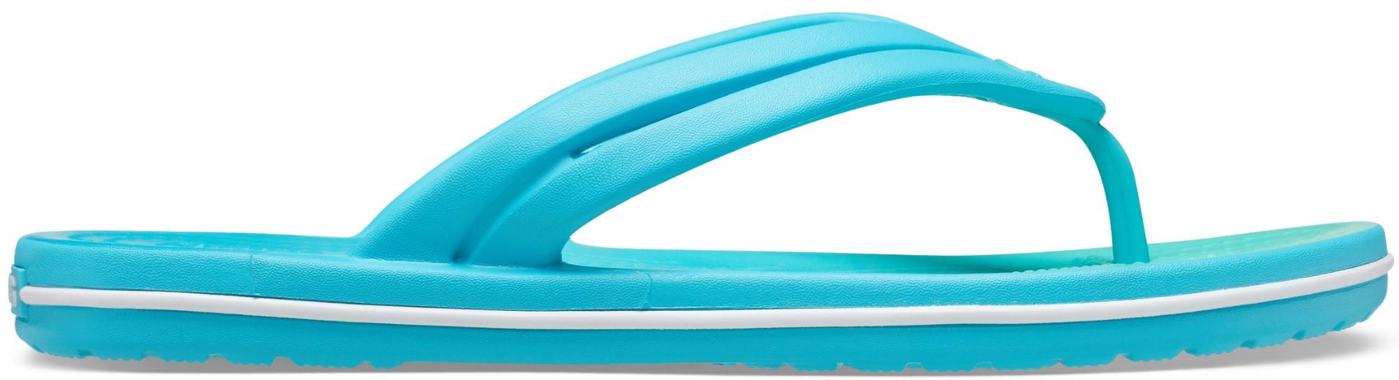 Crocs™ Crocband Ombre Flip Women's Digital Aqua/Multi 42,5