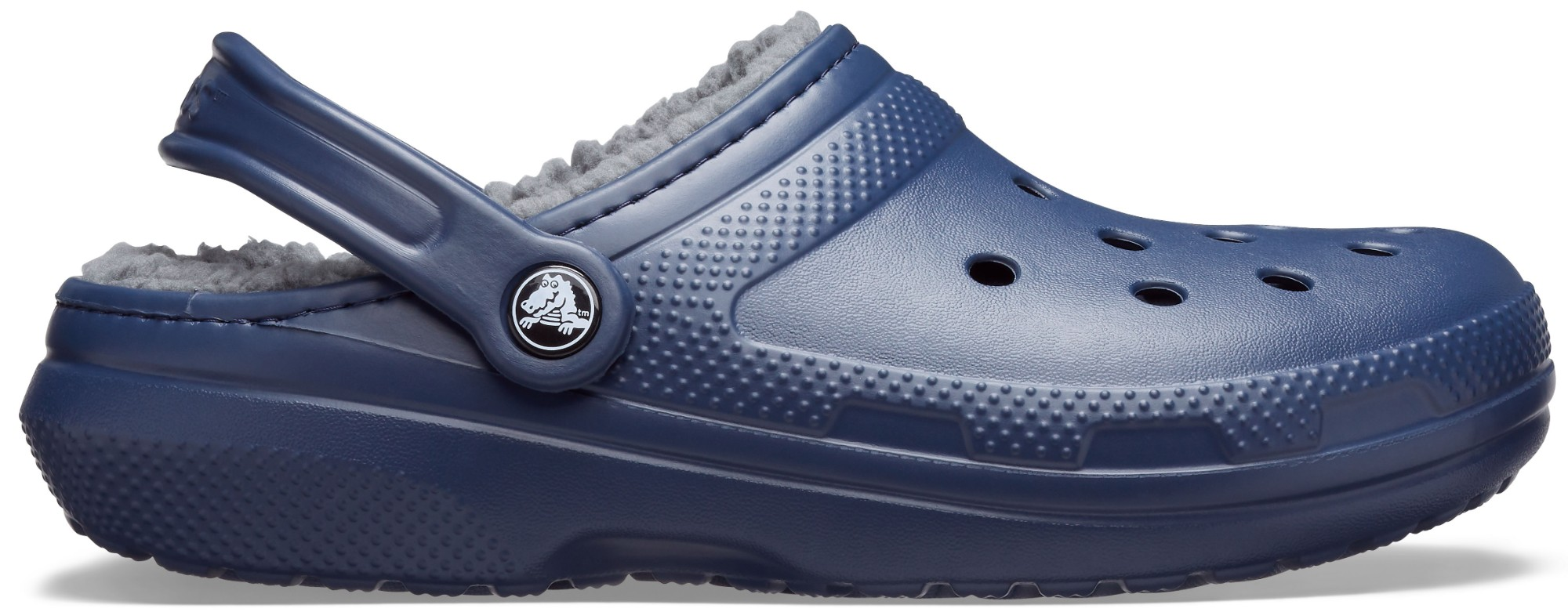 Crocs™ Classic Lined Clog Navy/Charcoal 36,5