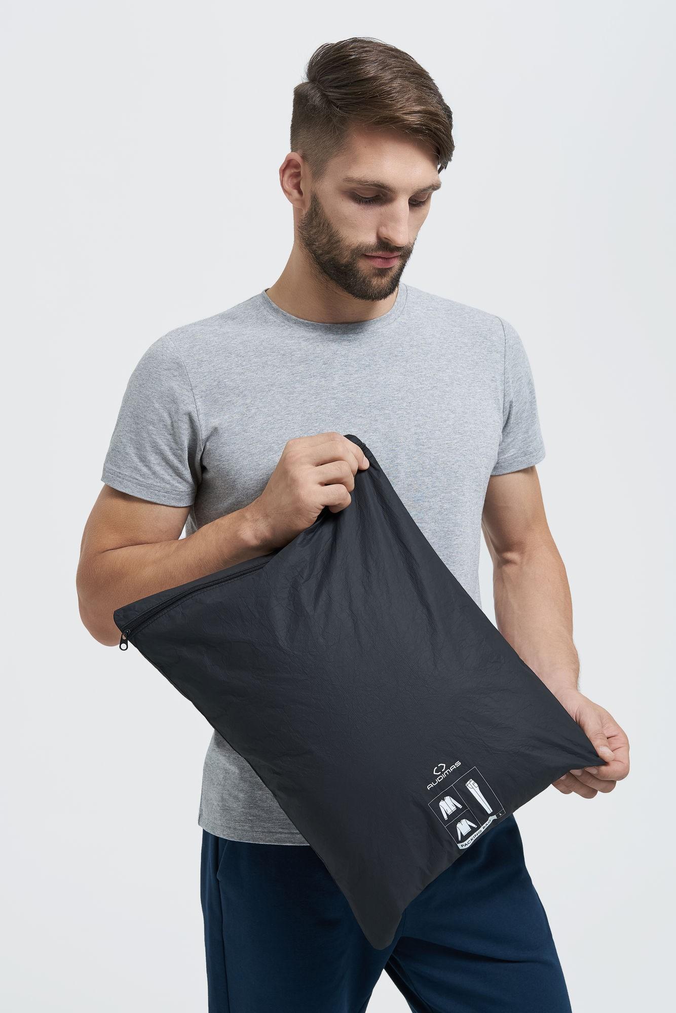 AUDIMAS Pakavimo krepš.drabužiams 36x48cm 1-02-111 Black One Size