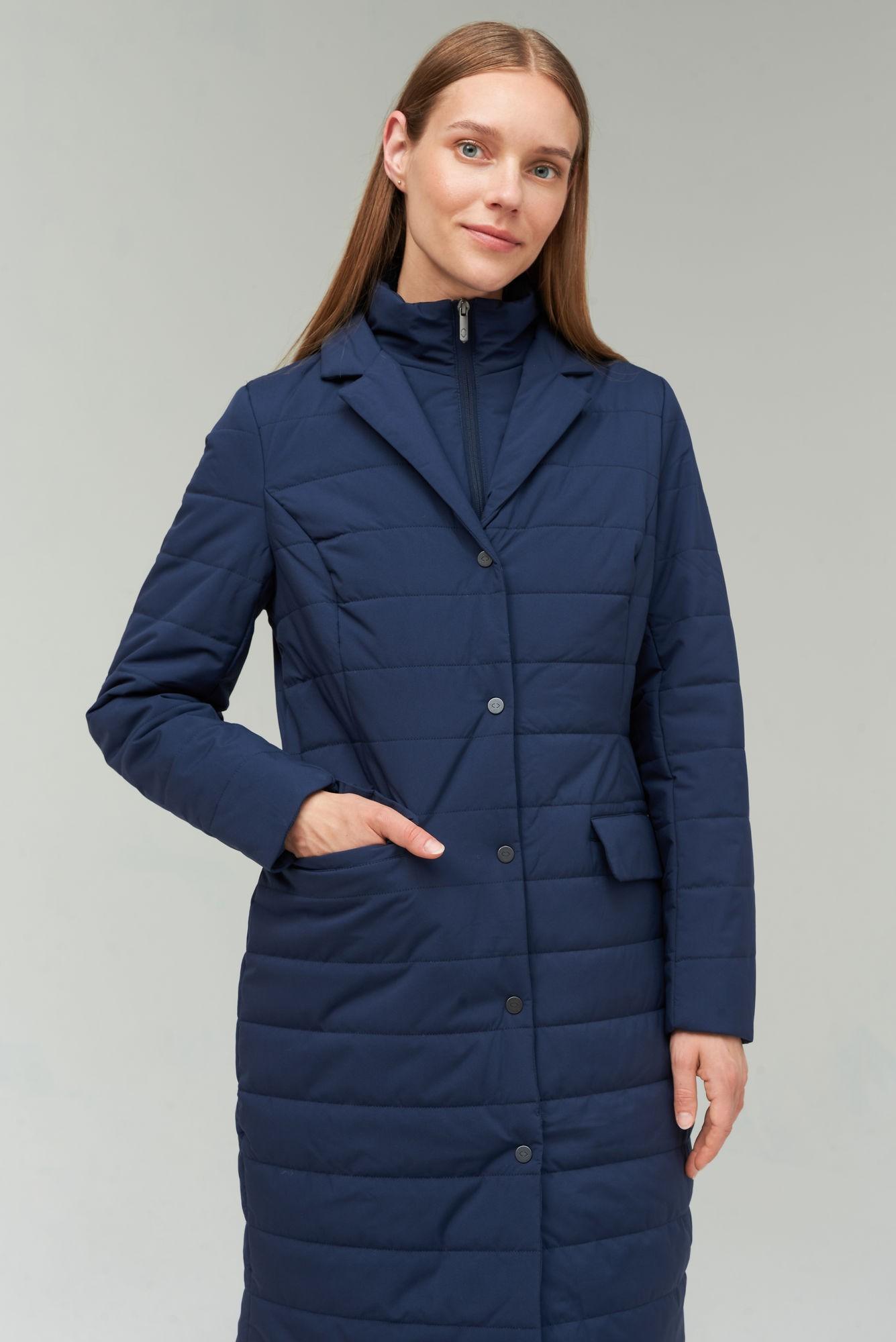 AUDIMAS Paltas su THINSULATE pašiltinimu 2021-006 Navy Blazer L