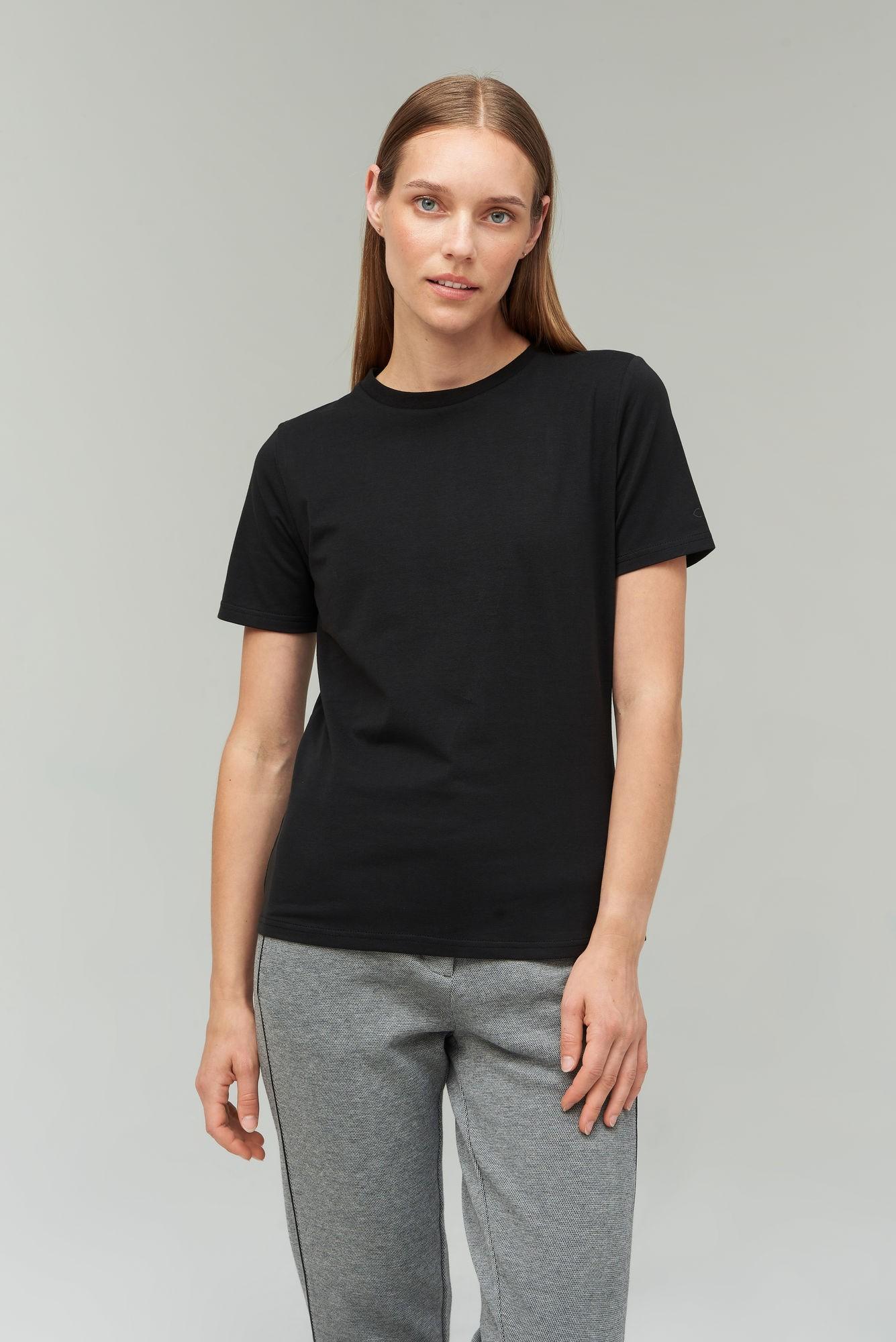 AUDIMAS Medvilniniai marškinėliai 2021-073 Black L