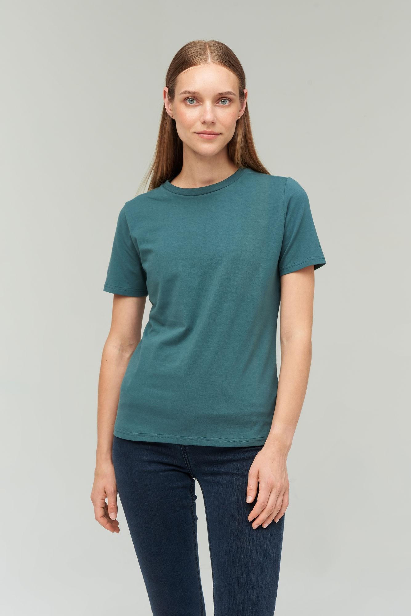 AUDIMAS Medvilniniai marškinėliai 2021-073 Mallard Green S
