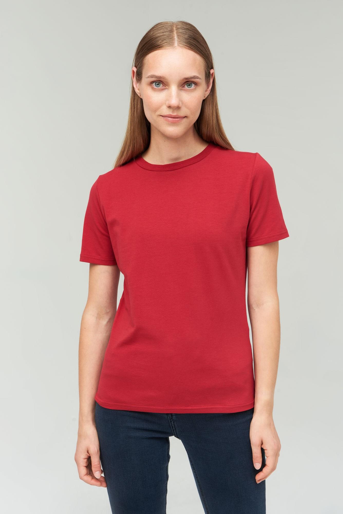 AUDIMAS Medvilniniai marškinėliai 2021-073 Rio Red M