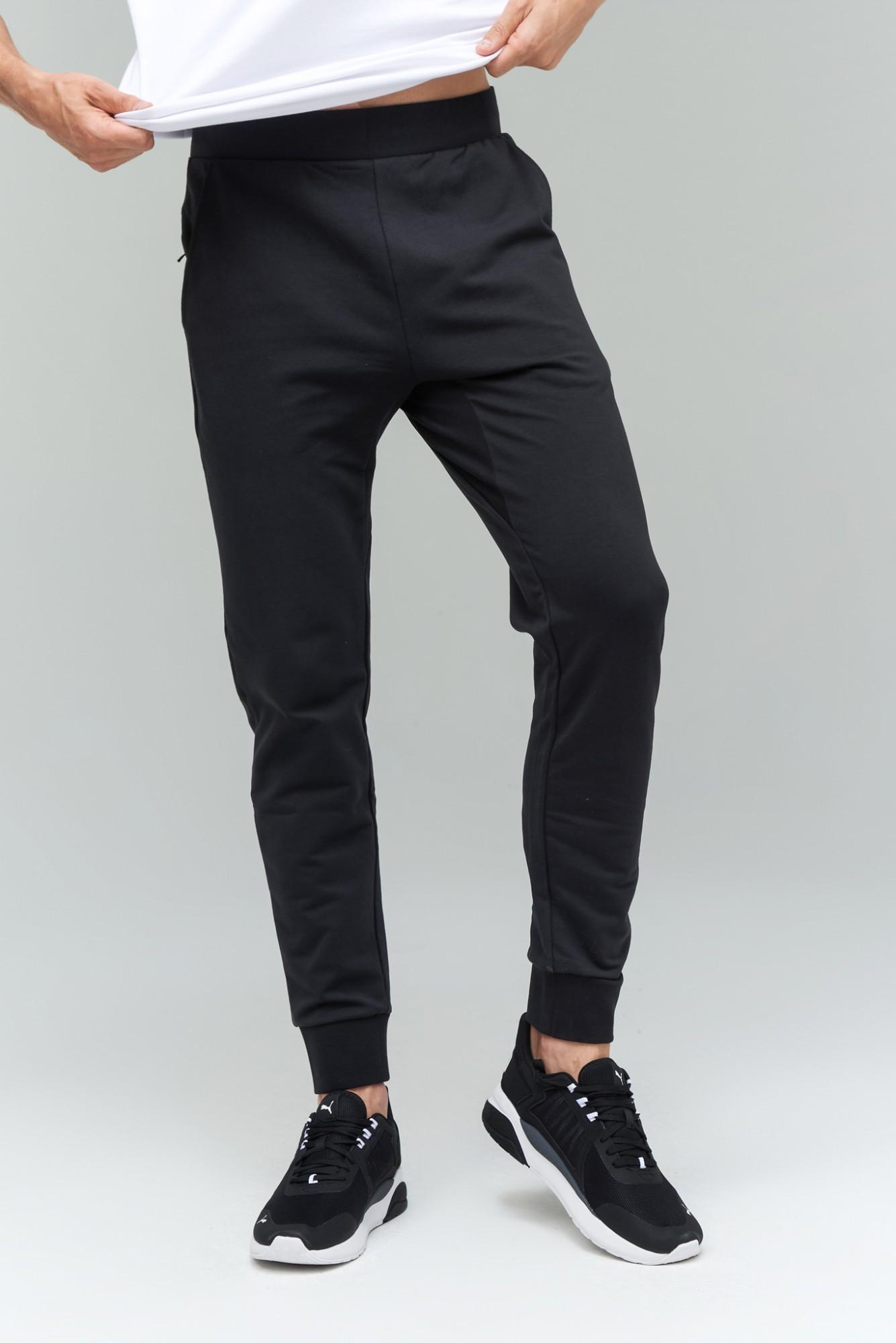 AUDIMAS Priglud. tamprios medviln. kelnės 2021-469 Black 176/S