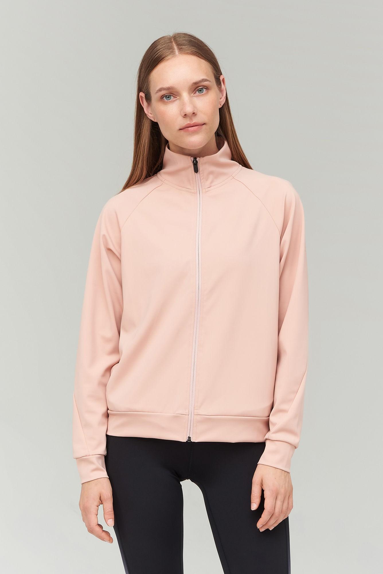 AUDIMAS Atsegamas funkcionalus džemperis 2021-058 Misty Rose S