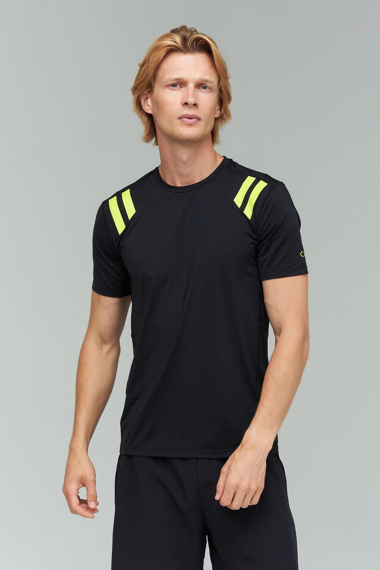 AUDIMAS Funkcionalūs marškinėliai 2021-451 Black L