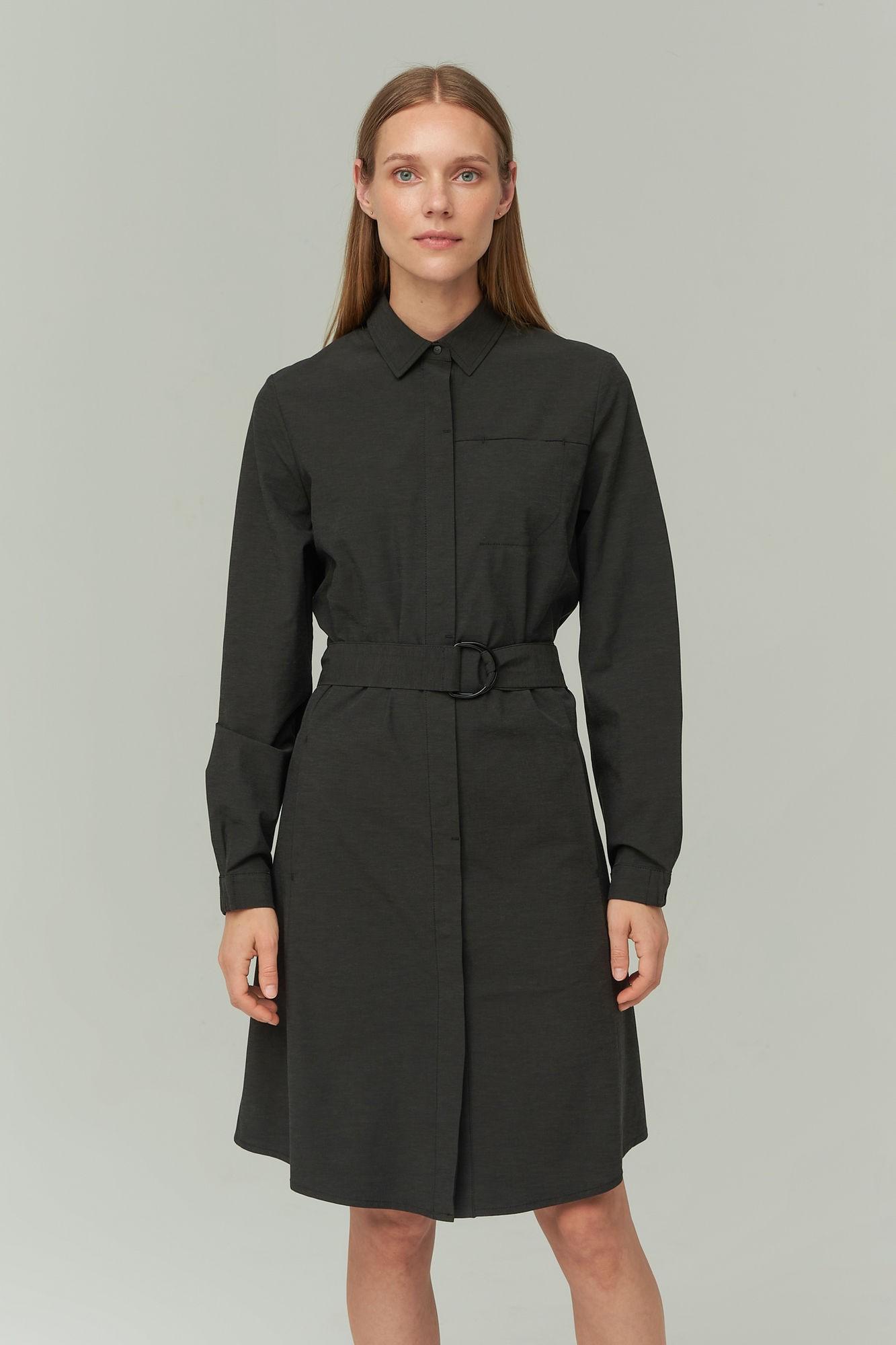 AUDIMAS Lengva tampri suknelė 2021-012 Black L