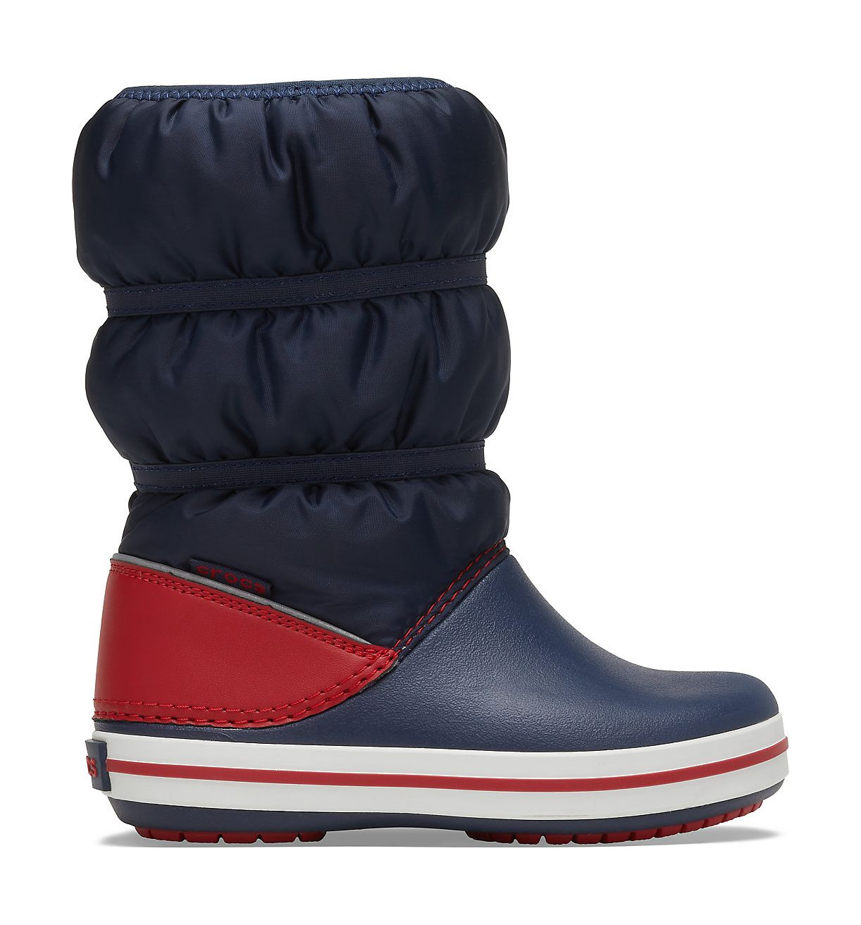 Crocs™ Crocband Winter Boot Kid's Navy/Red 27