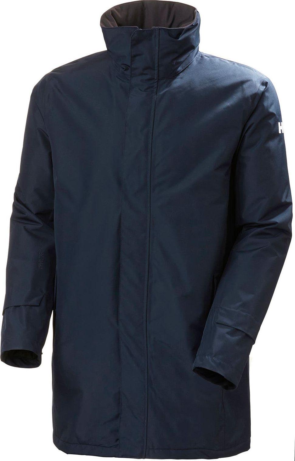 HELLY HANSEN Dubliner Insulated Long Jacket Men's Navy M