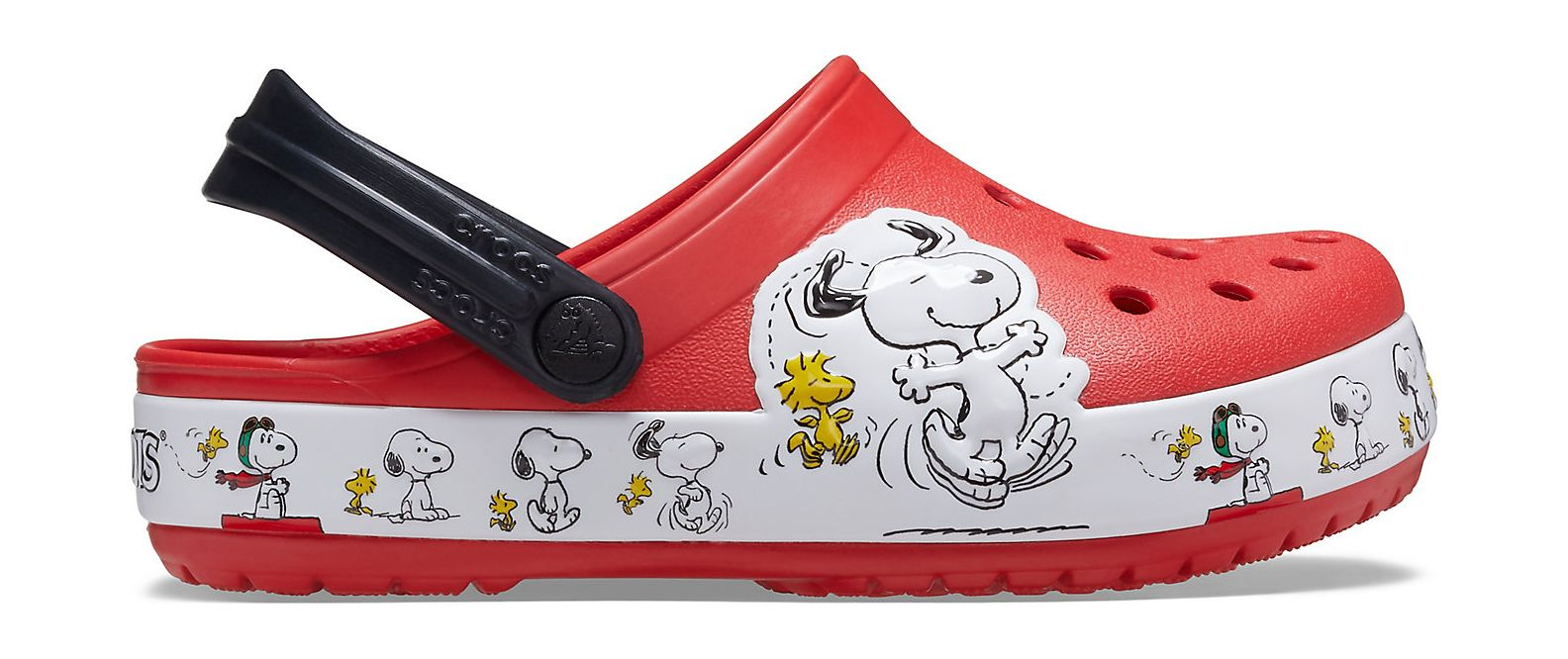 Crocs™ Funlab Snoopy Woodstock Clog Kids Flame 25