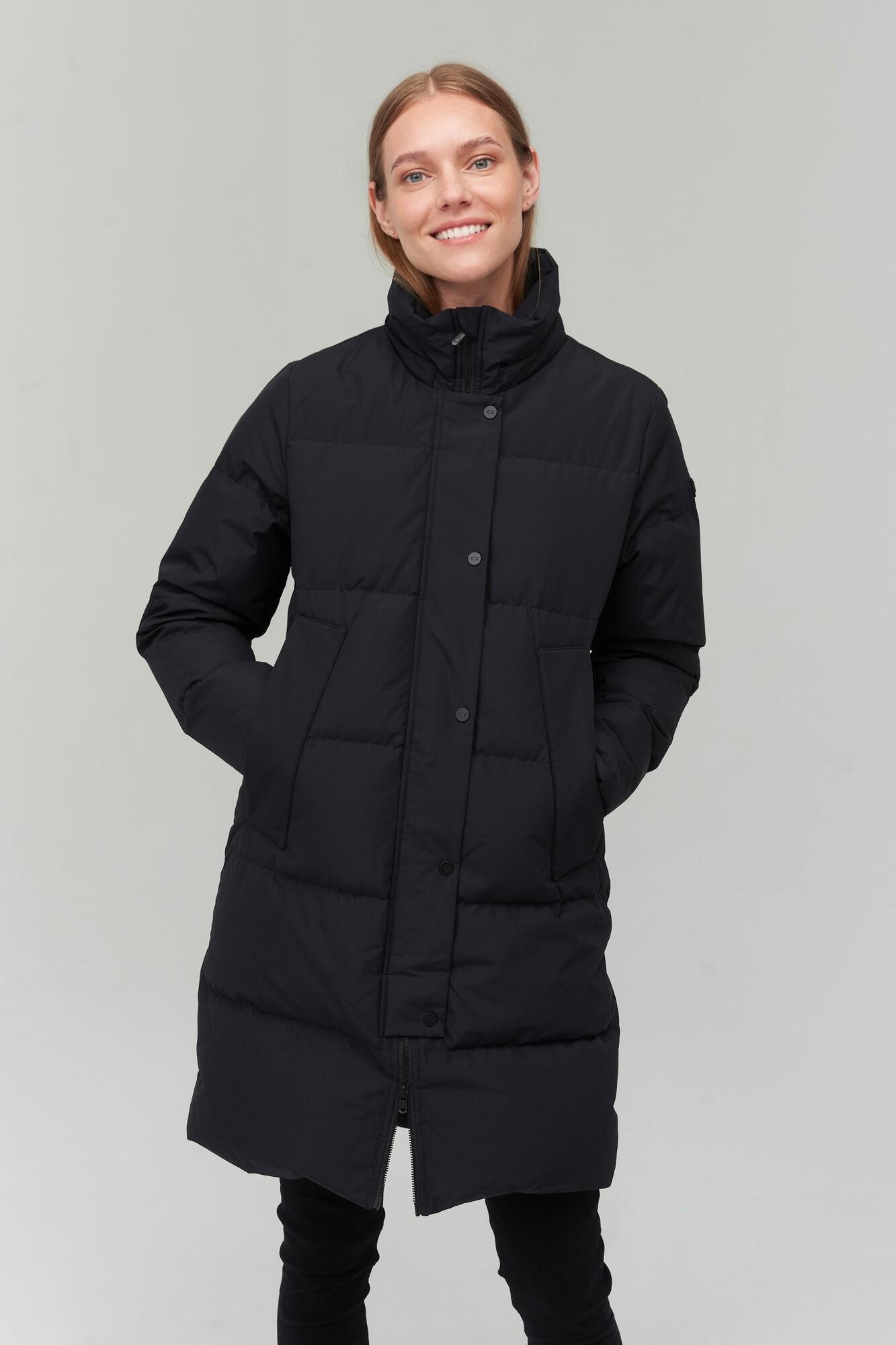 AUDIMAS Pūkinis paltas 2021-031 Black XL