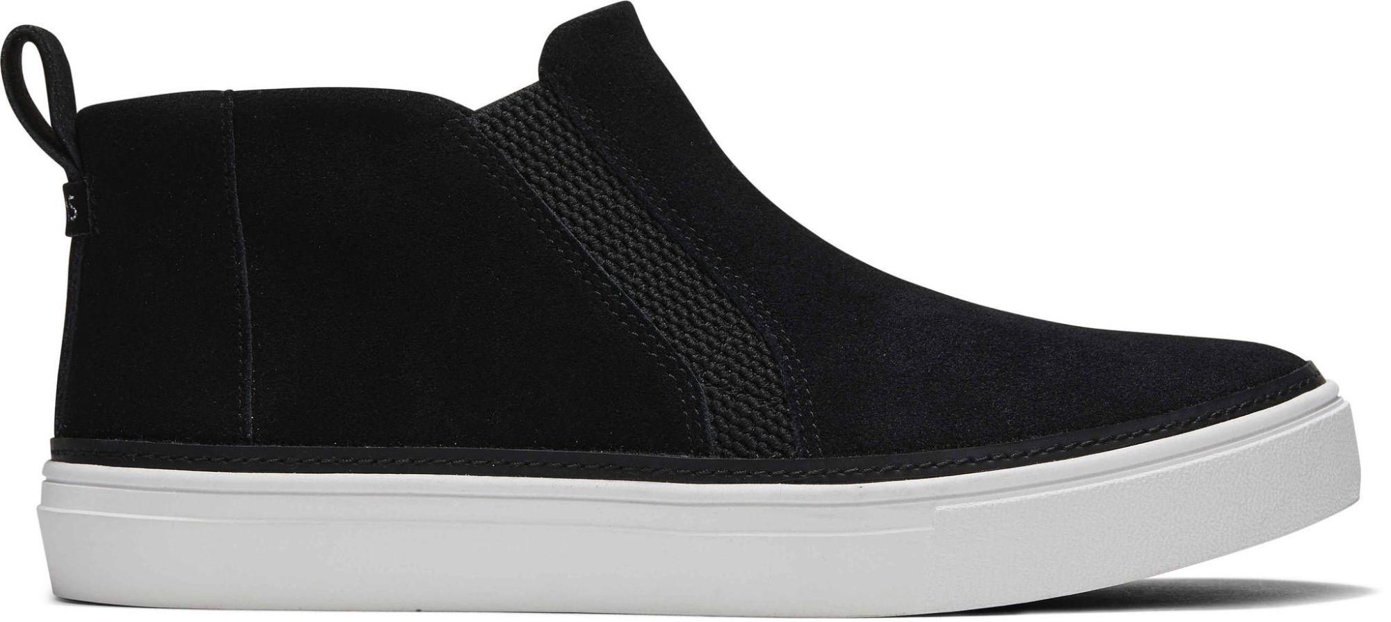 TOMS Suede Women's Slip-On Bryce Sneaker Black 39