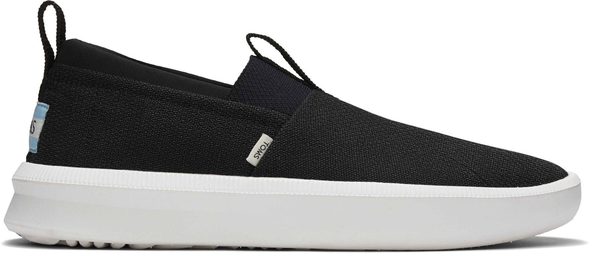 TOMS Heritage Canvas Men's Rover Slip-On Sneaker Black 43
