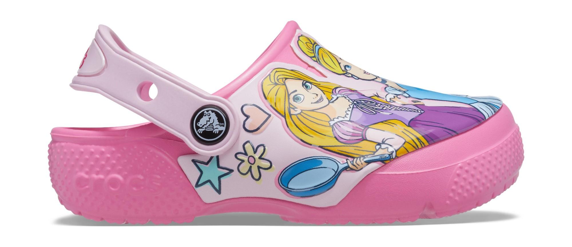 Crocs™ FunLab Disney Princess Clog Kid's Pink Lemonade 24