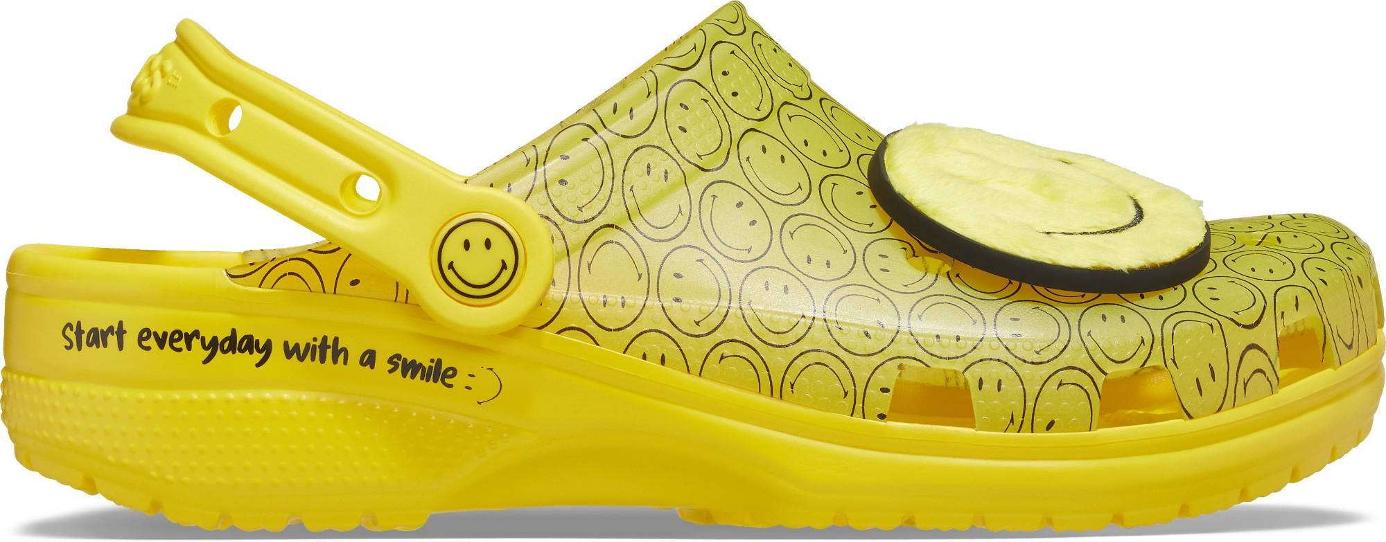 Crocs™ Classic Translucent Smiley Clog Multi 45,5