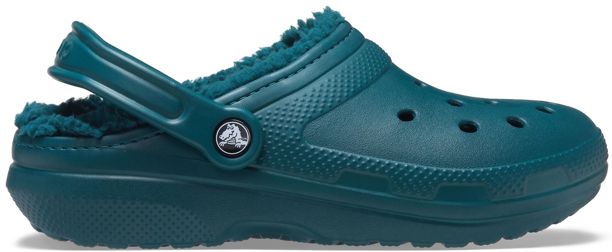 Crocs™ Classic Lined Clog Evergreen 41