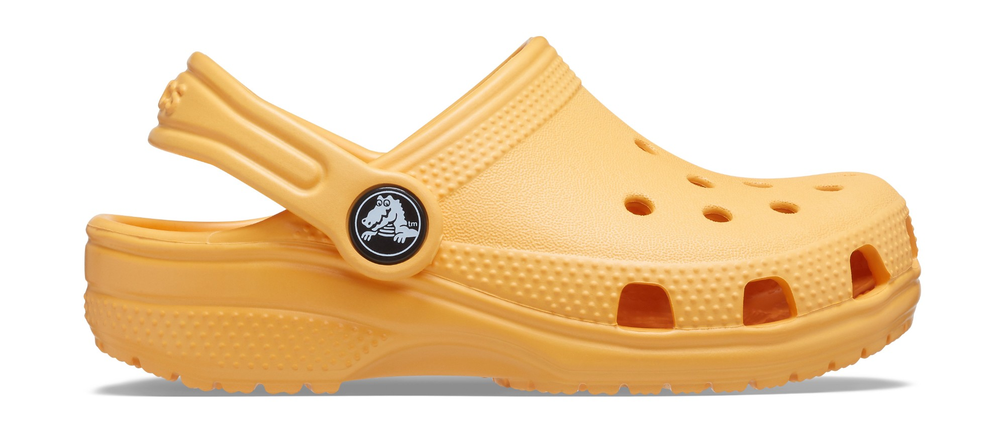 Crocs™ Kids' Classic Clog Orange Sorbet 25