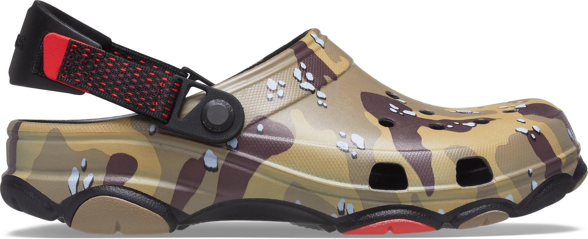 Crocs™ Classic All-Terrain Desert Camo Clog Black/Brown 47,5