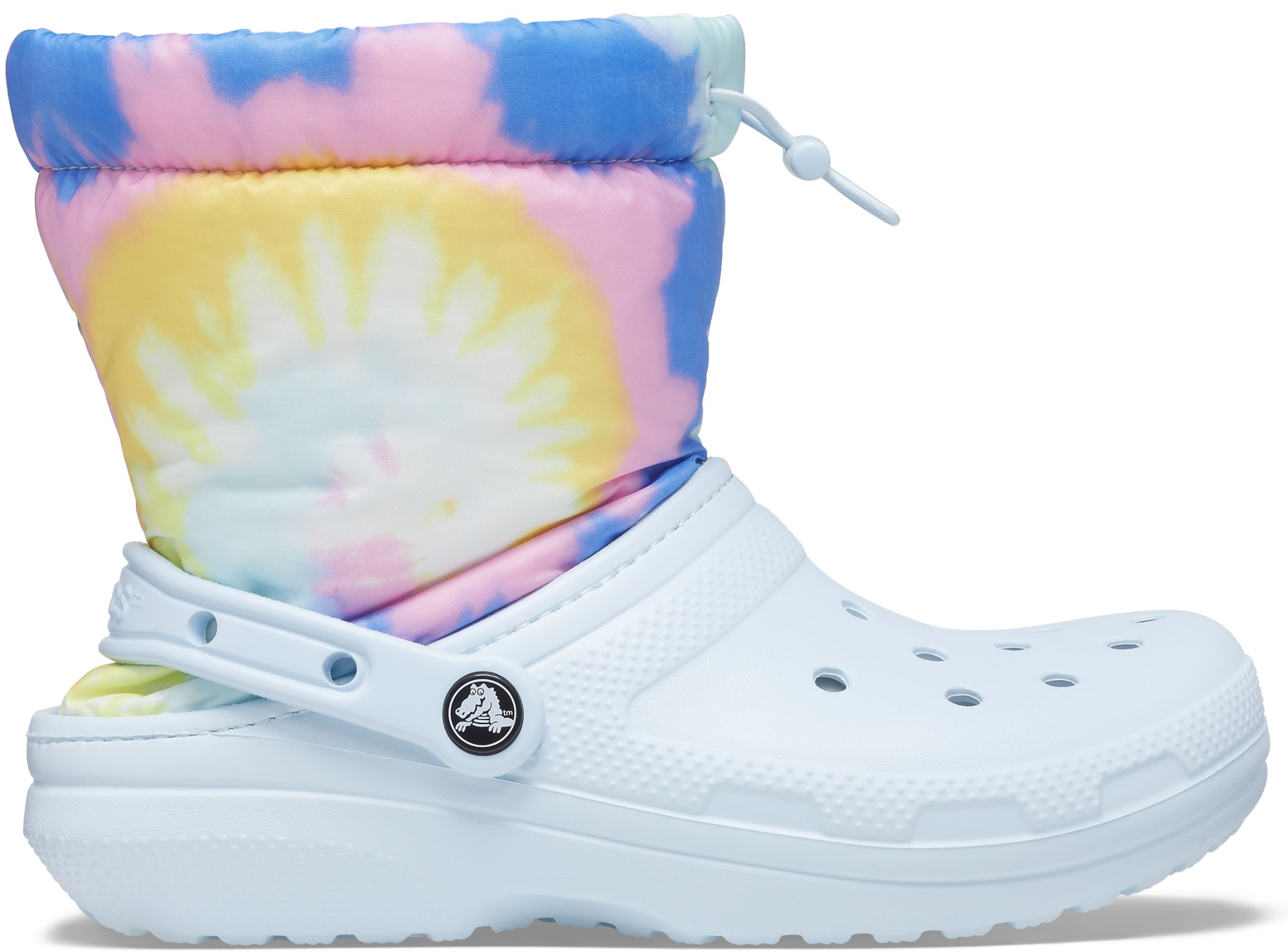 Crocs™ Classic Lined Neo Puff Tie Dye Boot Mineral Blue 36,5