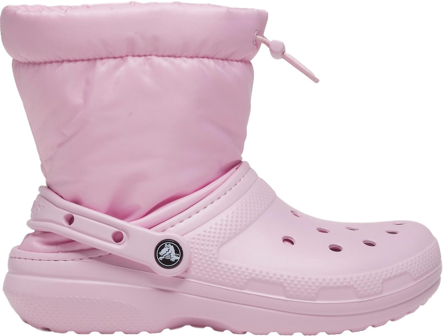 Crocs™ Classic Lined Neo Puff Boot Ballerina Pink 36,5