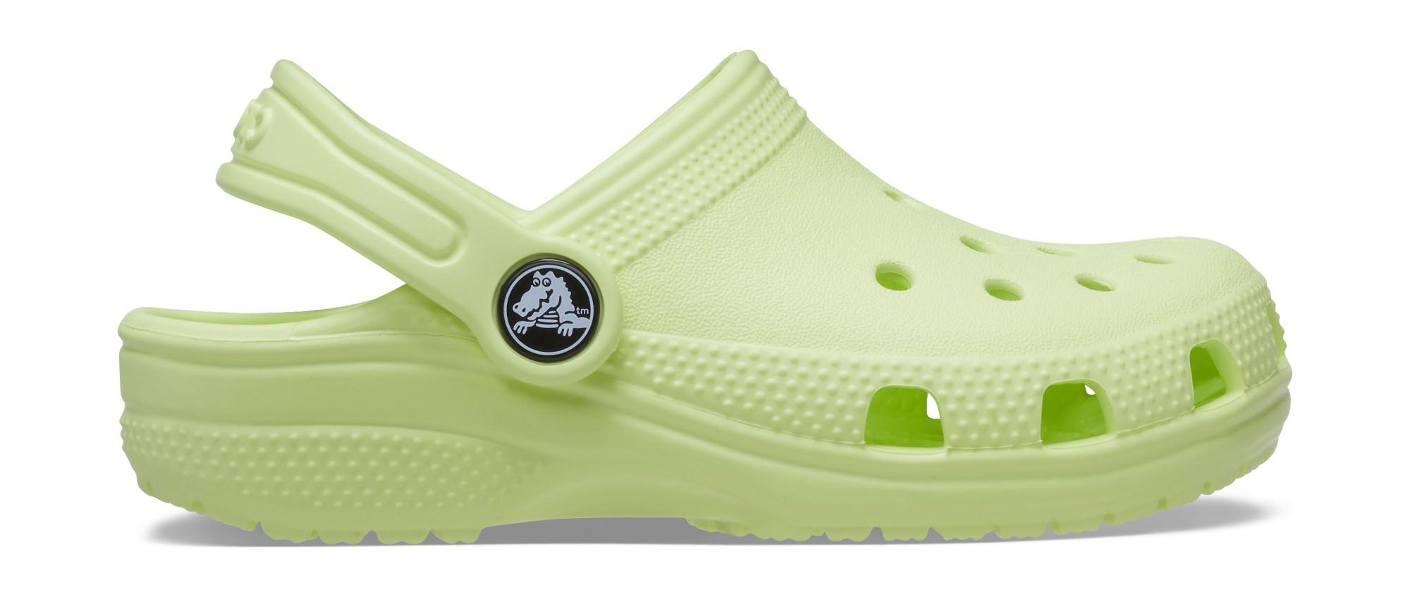 Crocs™ Kids' Classic Clog Lime Zest 30