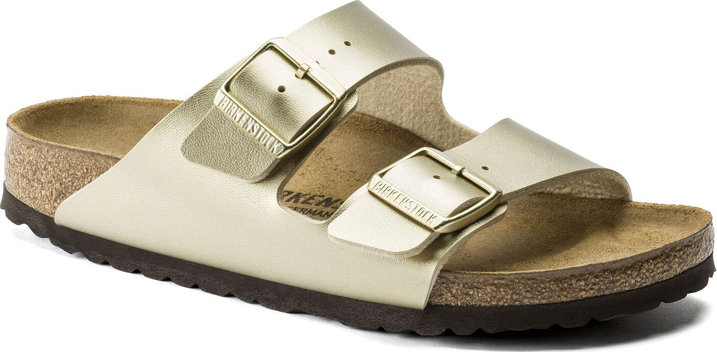 Birkenstock Arizona Birko-Flor Metallic Gold 37