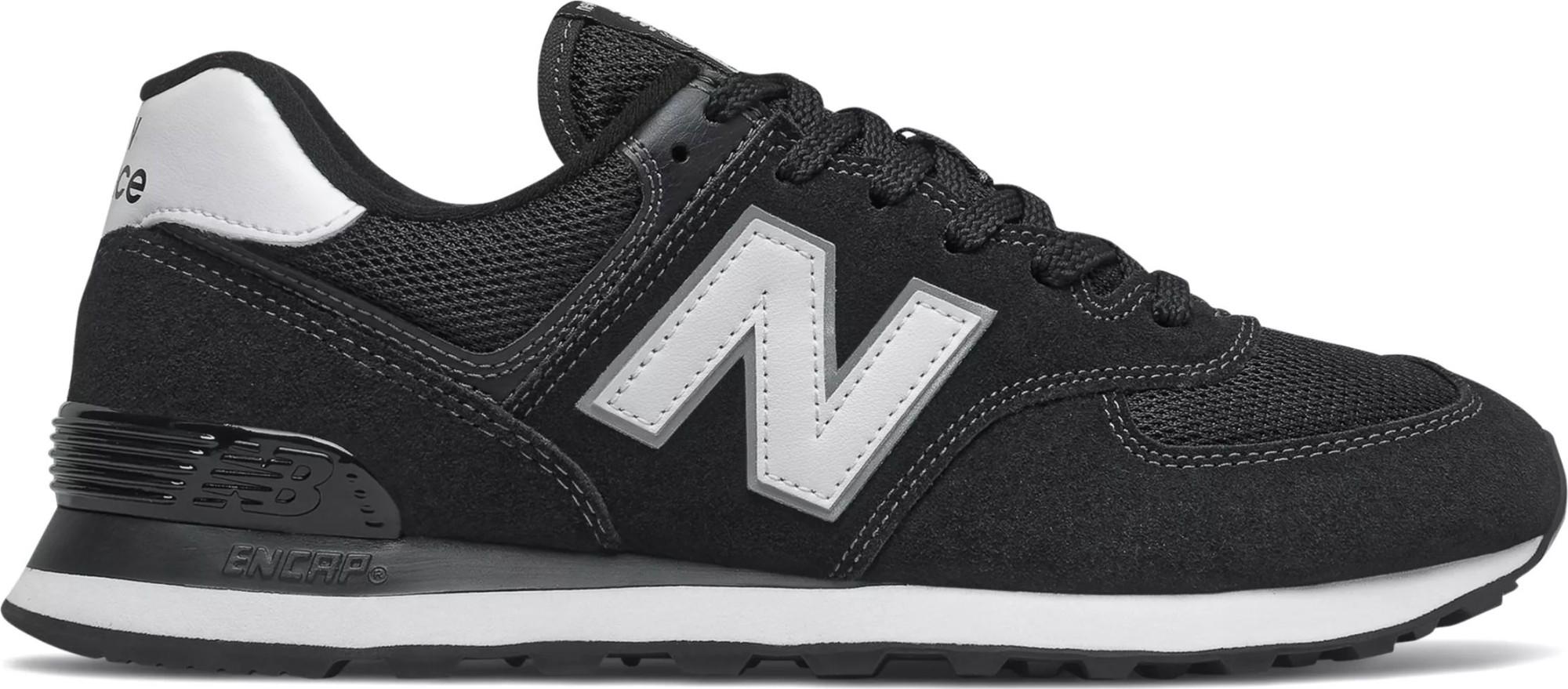 New Balance ML574 T2 Black/White EE2 37