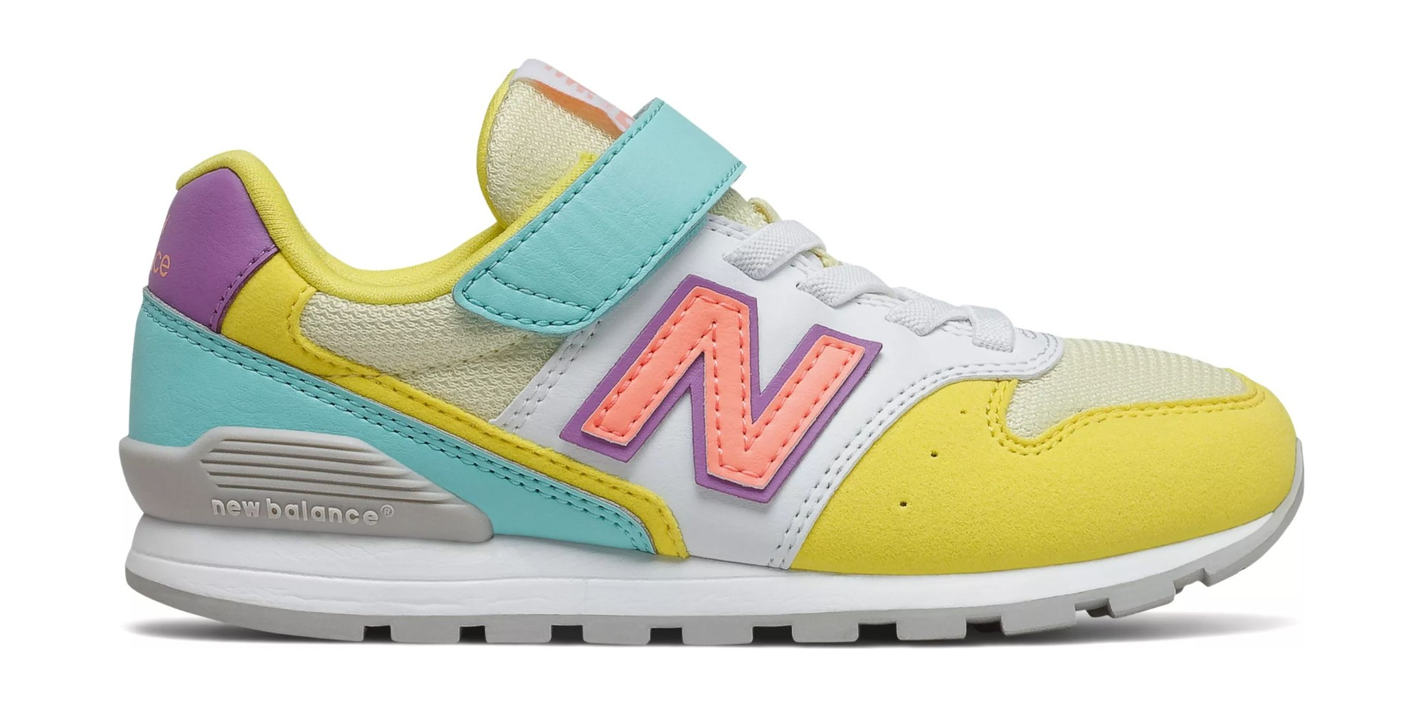 New Balance YV996 Yellow/Aqua 36