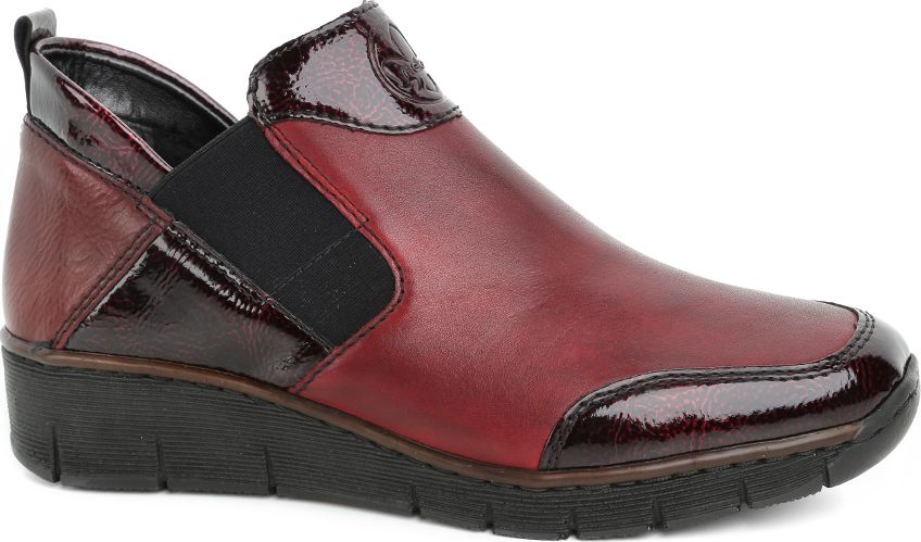 Rieker 53-78-02-8 Dark Red 38