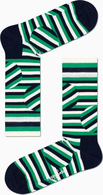 Happy Socks Jumbo Dot Stripe Sock Multi 7300 41-46