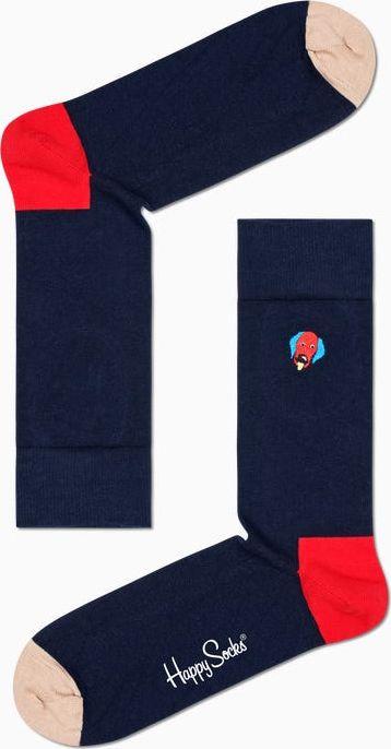Happy Socks Embroidery Dog Sock Multi 6500 36-40