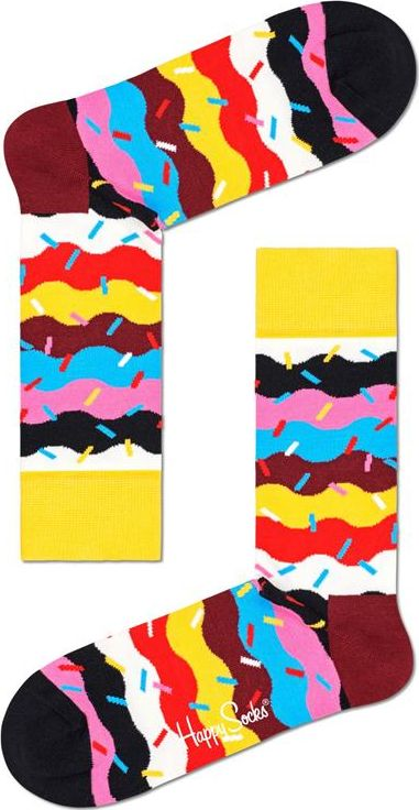 Happy Socks Birthday Cake Sprinkle Sock Multi 0200 41-46