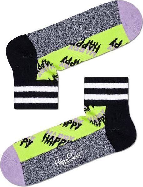 Happy Socks Happy Logo 1/4 Crew Sock Multi 7000 36-40