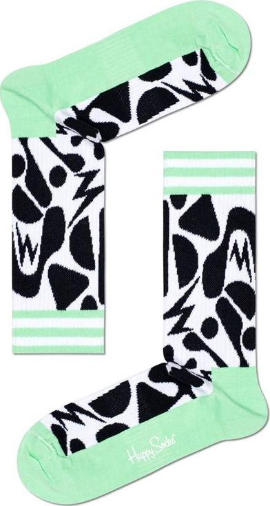 Happy Socks Jumble Thin Crew Sock Multi 9100 41-46