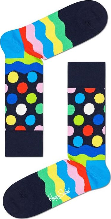 Happy Socks Easter Wave Sock Multi 6500 36-40