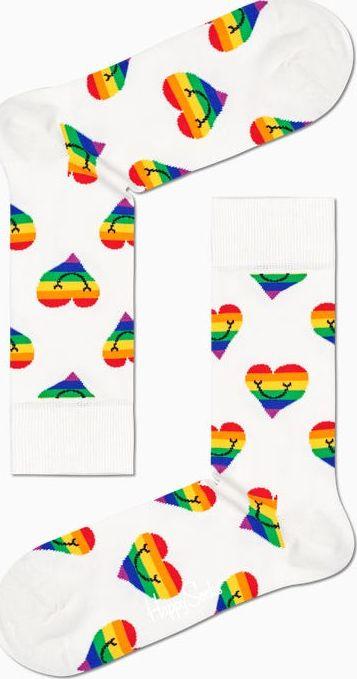 Happy Socks Pride Heart Sock Multi 1300 41-46