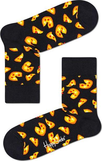 Happy Socks Pizza Half Crew Sock Multi 9300 41-46