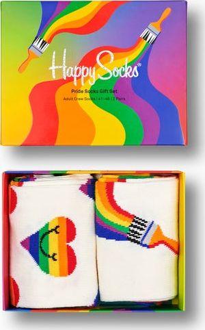 Happy Socks 2-Pack Pride Socks Gift Set Multi 9300 41-46