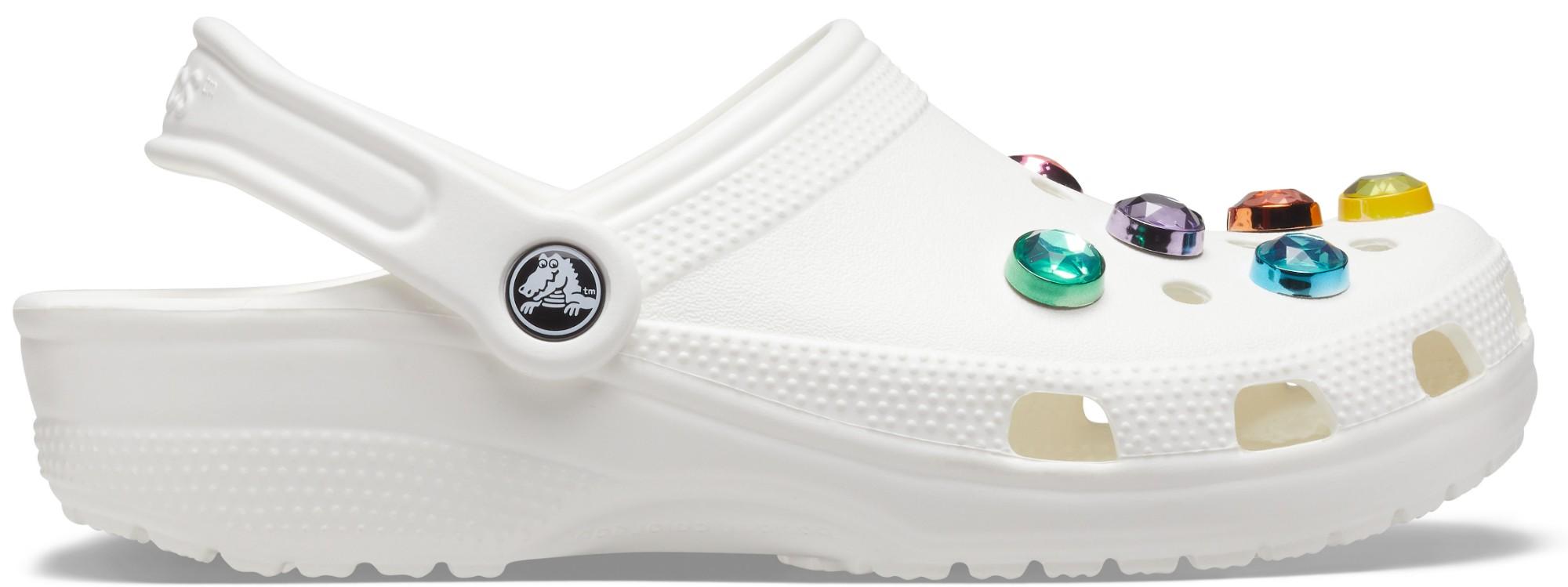 Crocs™ Classic Gem Clog White 41