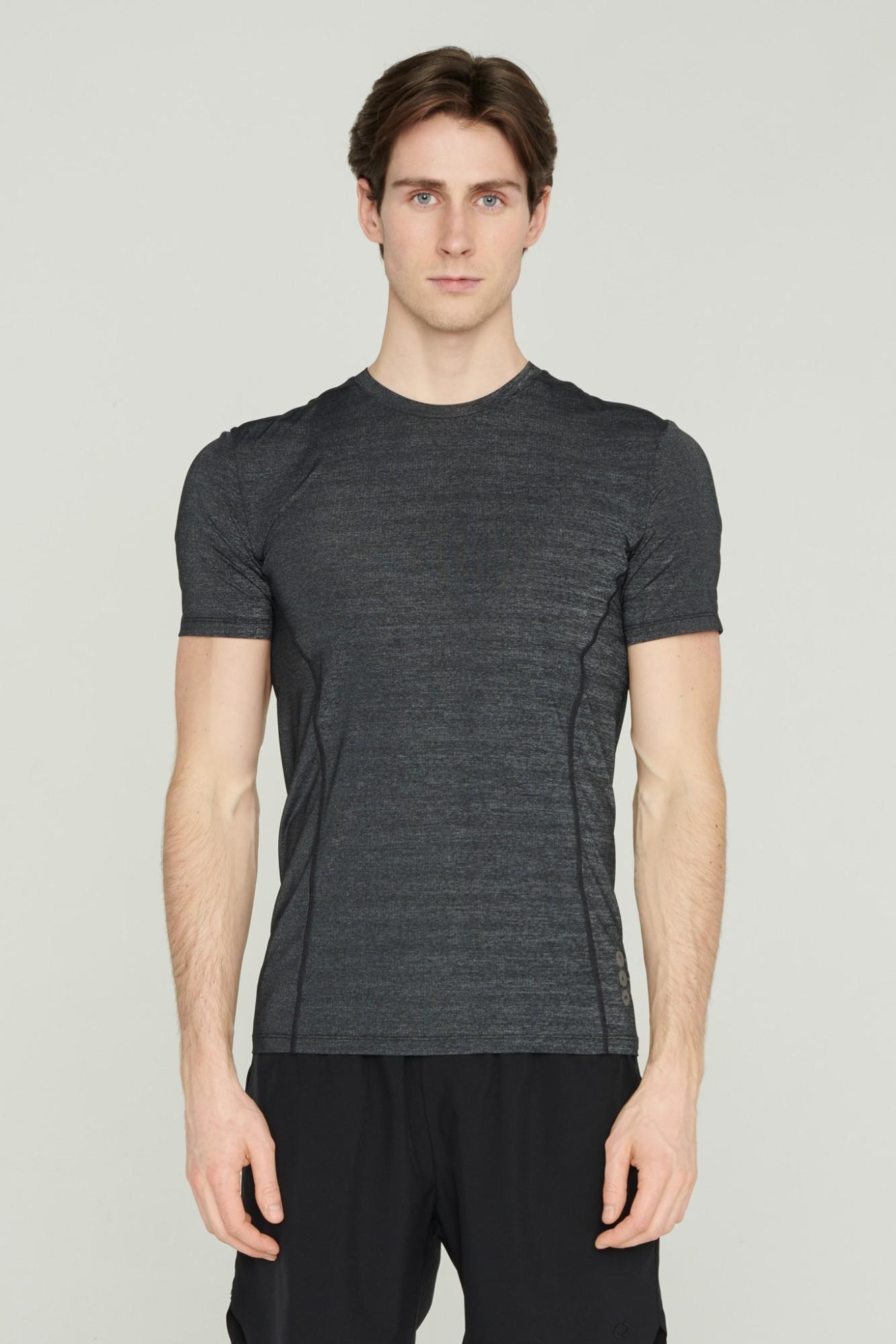 AUDIMAS Kūną vėsinantys marškinėliai 2111-495-1 Raven Melange L