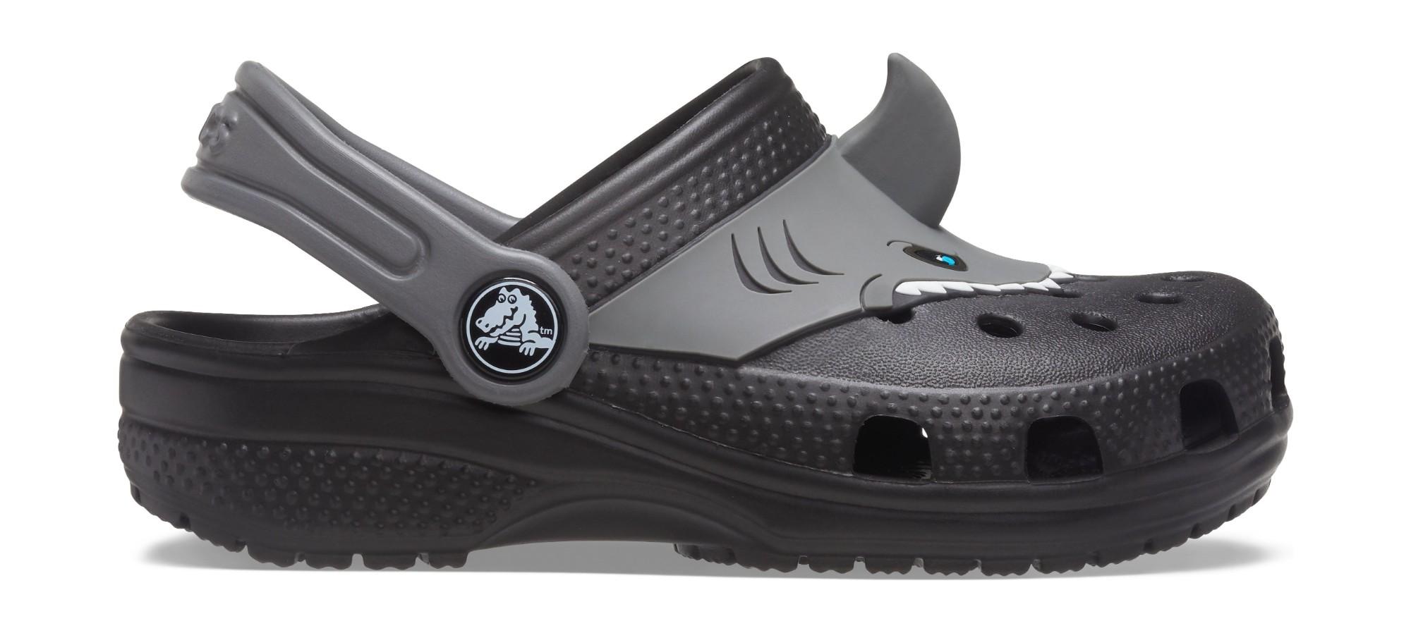 Crocs™ Fun Lab Classic I AM Shark Clog Black 28