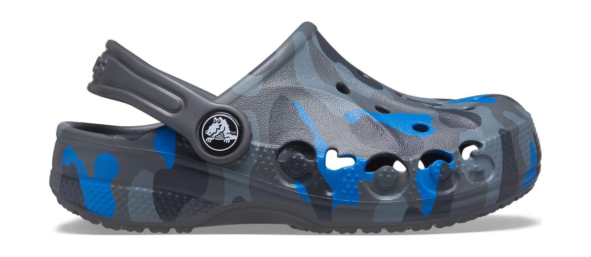 Crocs™ Baya Graphic Clog Slate Grey 29