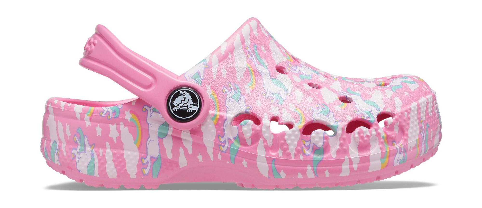 Crocs™ Baya Graphic Clog Pink Lemonade 26