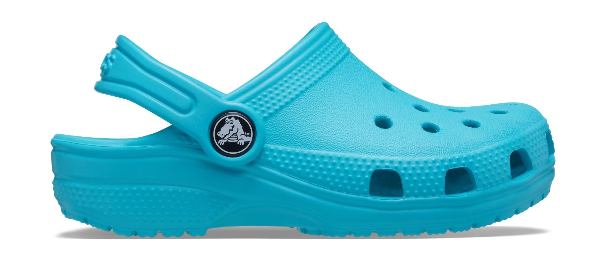 Crocs™ Kids' Classic Clog Digital Aqua 26
