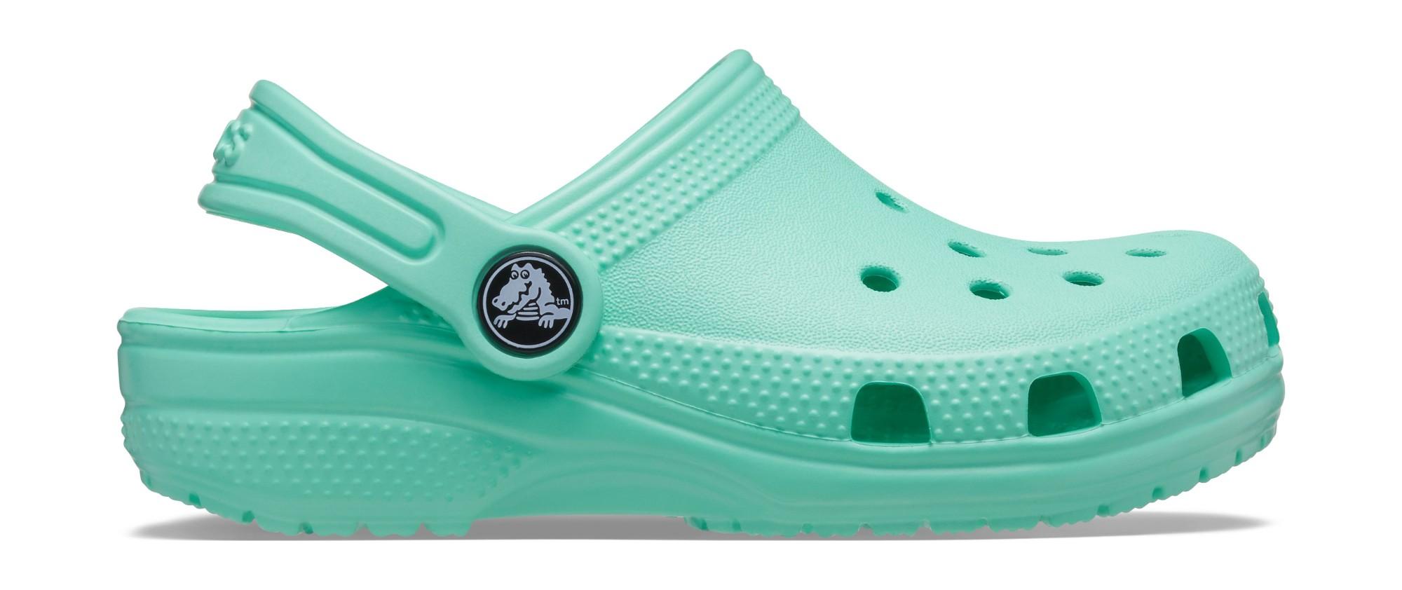 Crocs™ Kids' Classic Clog Pistachio 28